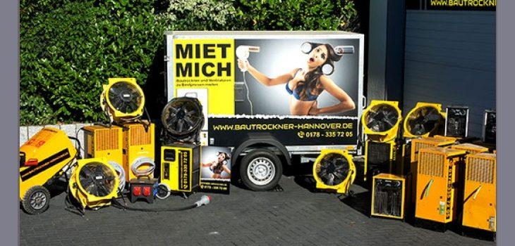 BTH Group – Vermietung von Bautrocknern in Hemmingen bei Hannover, Langenhagen, Laatzen