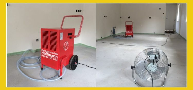 Maschinenverleih Hoffmann – Bautrockner mieten in Loose, Barkelsby, Eckernförde