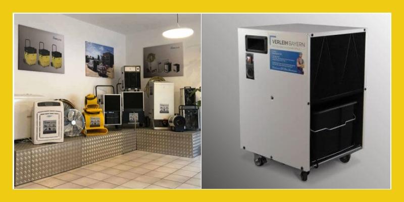 Klima Center - Rental   Services   Solutions  Bautrockner Verleih  Rosenheim/Brannenburg, Traunstein, München